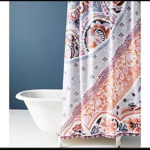 Anthropologie palisades shower curtain